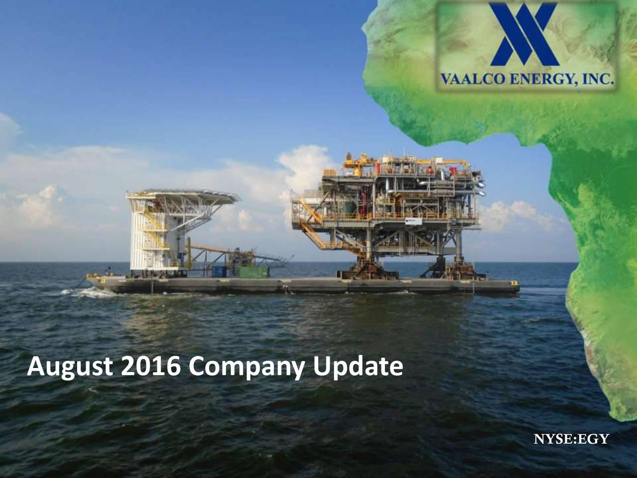 NYSE:EGY VAALCO Energy, Inc. 1