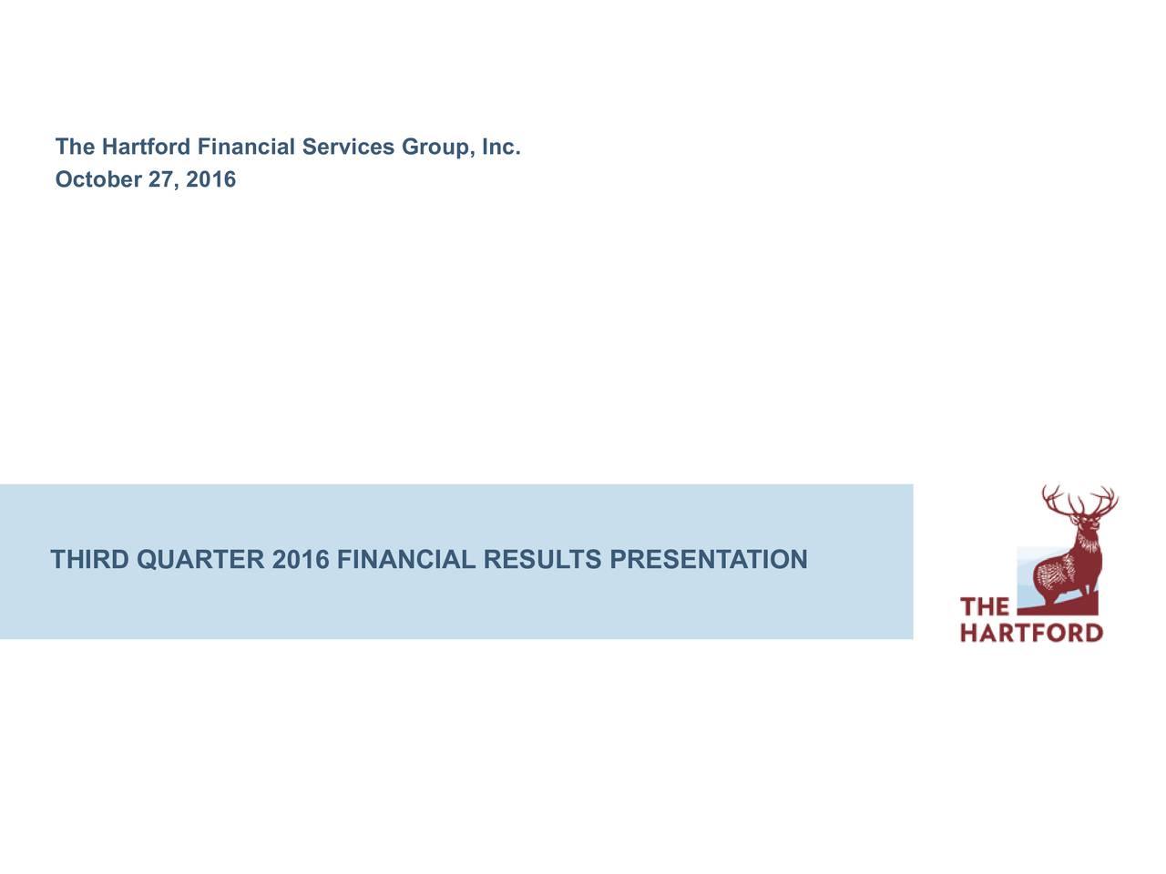 Hartford Financial Services Group Inc. 2016 Q3