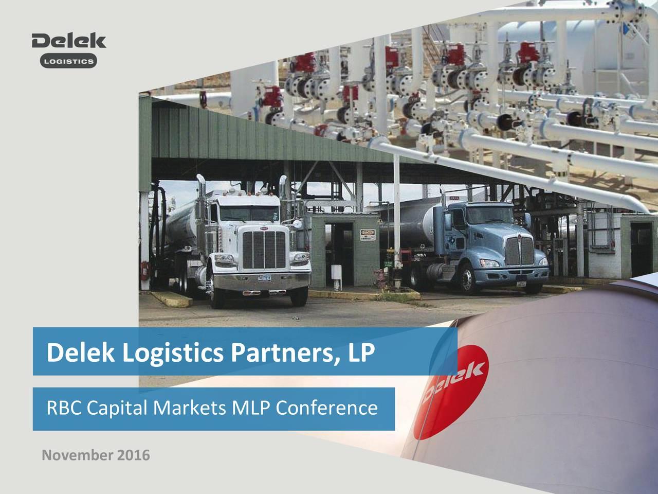 RBC Capital Markets MLP Conference November 2016