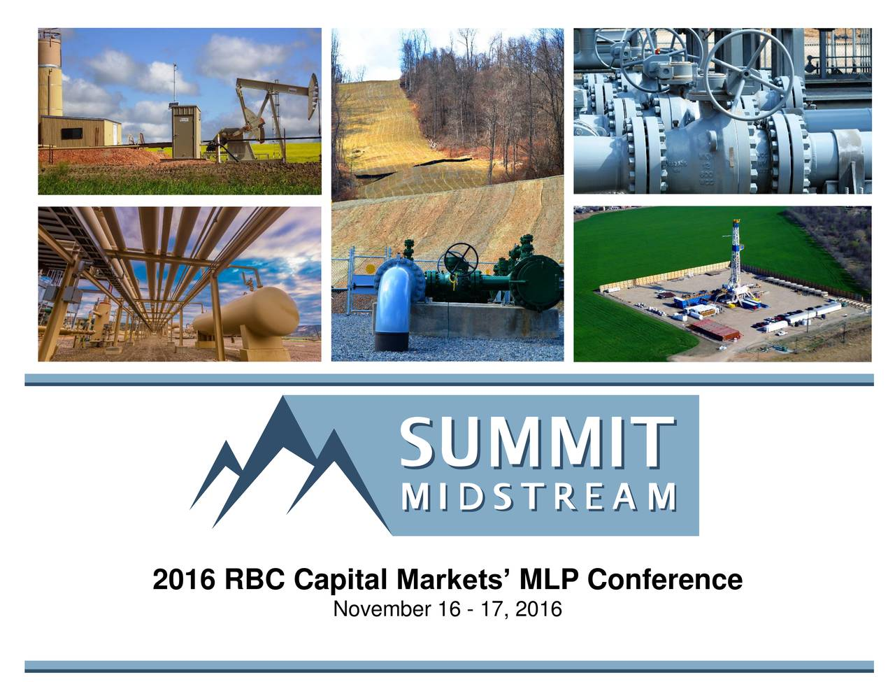 Summit Midstream (SMLP) presents at RBC Capital Markets ...