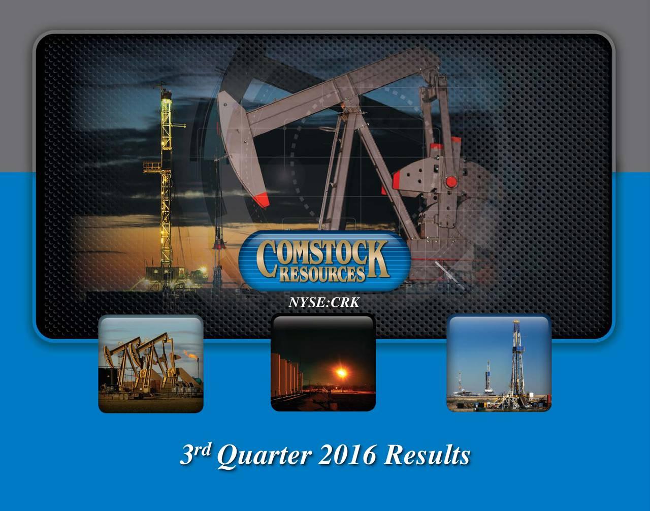 rd 3 Quarter 2016 Results