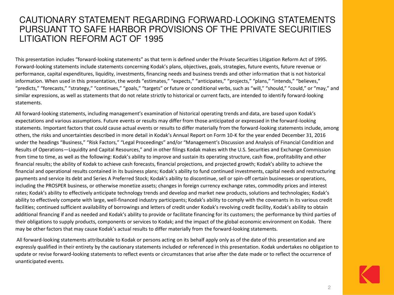 Eastman kodak global subpply chain strategy