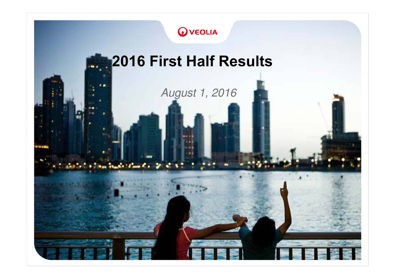 2016 First Half Results